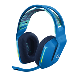 LOGITECH G733 LIGHTSPEED WIRELESS RGB GAMING HEADSET- PRO G 40MM AUDIO DRIVER-BLUE-2YR WTY