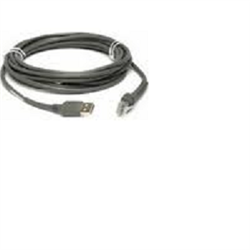 ZEBRA CABLE DATA SCANNER USB 4.6M STR