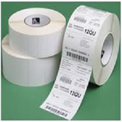 Z-PERFORM 2000D 2INX1IN COATED BRIGHT WHITE ACRYLIC WITH ADHESIVE 5500 LABELS PER ROLL