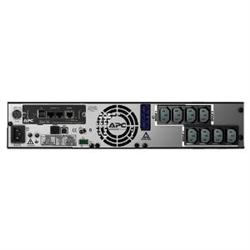 APC SMART UPS (SMX)- 1500VA- IEC(8)- EXT BATT(0/10)- NETWORK- LCD- 2U RACK/TWR- 3YR