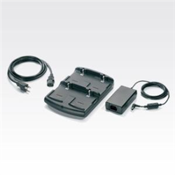 4 SLOT BATTERY CHARGER KIT (US). KIT INCLUDES: 4 SLOT BATTERY CHARGER SAC5500-4000CR P/S PWRS-14000-148R AND US AC LINE CORD 23844-00-00R.