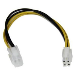 8IN ATX12V 4 PIN P4 CPU POWER EXTENSION CABLE - M/F