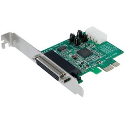 4 PORT NATIVE PCI EXPRESS RS232 SERIAL ADAPTER CARD WITH 16950 UART - PCIE RS232 SERIAL CARD
