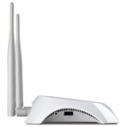 TP-LINK 300MBPS 3G/4G WIRELESS-N ROUTER- LAN(4)- USB(1)- ANT(2)- 3YR