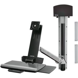 ERGOTRON SIT-STAND STYLEVIEW COMBO POLISHED