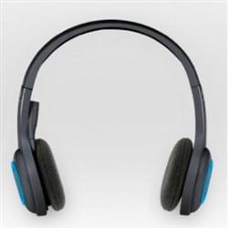 LOGITECH H600 WIRELESS STEREO HEADSET- NANO USB RECEIVER- 2 R WTY