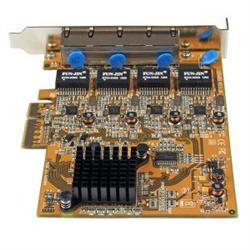 4 PORT PCI EXPRESS PCIE GIGABIT ETHERNET NIC NETWORK ADAPTER CARD
