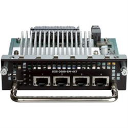 4-PORT 10GBASE-T MODULE FOR DXS-3600-SERIES