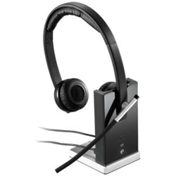 LOGITECH H820E DECT WIRELESS STEREO HEADSET - 1YR WTY