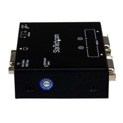 2-PORT VGA AUTO SWITCH BOX WITH PRIORITY SWITCHING AND EDID COPY - 2X1 DUAL PORT MONITOR VGA SWITCH 1920X1200