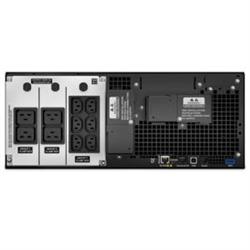APC SMART-UPS (SRT)- 6000VA- IEC(10)- NETWORK- LCD- 4U RACK/TWR- 3YR