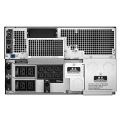 APC SMART-UPS (SRT)- 8000VA- IEC(10)- NETWORK- LCD- 6U RACK/TWR-ELECTRICIAN  INSTALL REQ'D