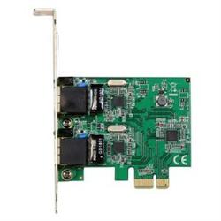STARTECH.COM DUAL PORT GIGABIT PCIE NETWORK CARD- 2YR