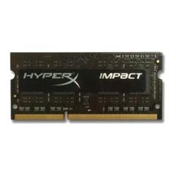 4GB DDR3L-2133MHZ CL11 SODIMM 1.35V HYPERX IMPACT BLACK