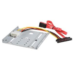 STARTECH.COM 2.5IN HARD DRIVE TO 3.5IN DRIVE BAY MOUNTING KIT 2 YR