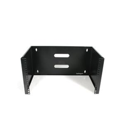 6U 12IN DEEP WALL MOUNTING BRACKET FOR PATCH PANEL