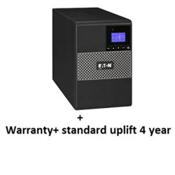5P650AU + UPS SERVICE (TOTAL 4 YEARS) BUNDLE INCLUDES: ADVANCE REPLACEMENT OF UPS EATON COVERS ALL LOGISTICS COSTS FOR REPLACEMENT UNITS 5X8 EATON CUSTOMER SERVICE CENTRE ACCESS