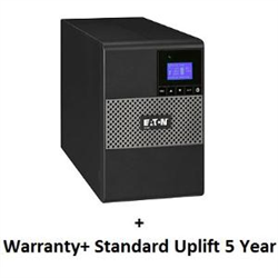 5P850AU + UPS SERVICE (TOTAL 5 YEARS) BUNDLE INCLUDES: ADVANCE REPLACEMENT OF UPS EATON COVERS ALL LOGISTICS COSTS FOR REPLACEMENT UNITS 5X8 EATON CUSTOMER SERVICE CENTRE ACCESS