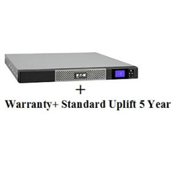 5P850IR + UPS SERVICE (TOTAL 5 YEARS) BUNDLE INCLUDES: ADVANCE REPLACEMENT OF UPS EATON COVERS ALL LOGISTICS COSTS FOR REPLACEMENT UNITS 5X8 EATON CUSTOMER SERVICE CENTRE ACCESS