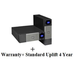 5PX3000IRT3UAU + UPS SERVICE (TOTAL 4 YEARS) BUNDLE INCLUDES: ADVANCE REPLACEMENT OF UPS EATON COVERS ALL LOGISTICS COSTS FOR REPLACEMENT UNITS 5X8 EATON CUSTOMER SERVICE CENTRE ACCESS