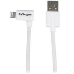 STARTECH.COM ANGLED LIGHTNING TO USB CABLE - 2M - WHITE 2 YR