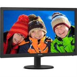 243V5QHABA 23.6IN LED VGA/DVI/HDMI (16:9) 1920X1080 SPEAKERS TILT STAND VESA
