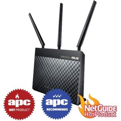 ASUS AC1900 WIRELESS DUAL BAND  ADSL/VDSL ROUTER-GBE(4)-USB 3.0(1)-ANT(3)-3YR WTY