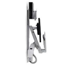 ERGOTRON SIT-STAND STYLEVIEW COMBO SYSTEM WHITE