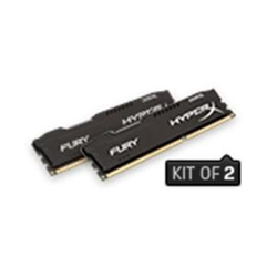 16GB 1600MHZ DDR3L CL10 DIMM (KIT OF 2) 1.35V HYPERX FURY BLACK