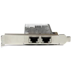 2-PORT PCI EXPRESS 10GBASE-T ETHERNET NETWORK CARD - 10GBE NETWORK INTERFACE CARD WITH INTEL X540 CHIP - PCIE 10G NIC W/ DUAL 100/1000/10G RJ45 PORTS - 10GBASE-T NETWORK ADAPTER
