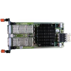 QSFP+ 40GBE MODULE 2-PORT HOT SWAP FOR 40GBE UPLINK STACKING OR 8X 10GBE BREAKOUT (CABLES NOT INCLUDED)