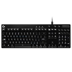 LOGITECH G610 MECHANICAL KEYBOARD- MEDIA CONTROL- CHERRY MX SWITCHES- ORION RED - 2YR WTY