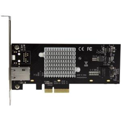 1-PORT 10G ETHERNET NETWORK CARD - PCI EXPRESS - 10GBE NIC WITH INTEL X550-AT CHIP - 10GBASE-T/NBASE-T COMPLIANT - MULTI SPEED 10G/5G/2.5G/1G/100MBPS - ONE-PORT PCIE 10G NIC