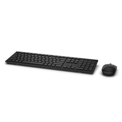 DELL KM636 WIRELESS KEYBOARD & MOUSE BASIC COMBO (BLACK)- 1YR