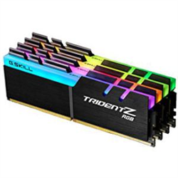 PC4-25600 / DDR4 3200 MHZ 32GB 4 X 8GB 14-14-14-34 1.35V TRIDENT Z RGB