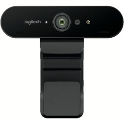 LOGITECH BRIO 4K ULTRA HD AUTOFOCUS INFRARED SENSOR WEBCAM  - 5X DIGITAL ZOOM - 3 WTY