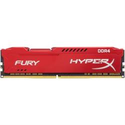 8GB 2666MHZ DDR4 CL16 DIMM 1RX8 HYPERX FURY RED