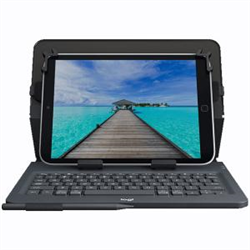 UNIVERSAL FOLIO WITH INTEGRATED KEYBOARD FOR 9-10 TABLETS