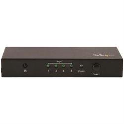 STARTECH.COM 4-PORT HDMI 2.0 SWITCH - 4K HDMI SWITCH BOX - ULTRA HD 4K 60HZ 2 YR