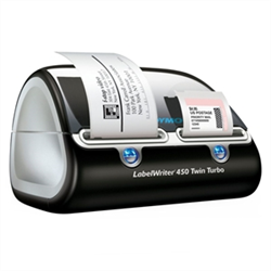 LABLE WRITER 450 TWIN TURBO - HIGH SPEED DUAL ROLL LABEL PRINTER FOR PC AND MAC