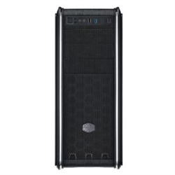 COOLERMASTER CM593- ATX/MATX/MINIITX- SIDE WINDOW- BLACK INTERIOR- 2XBLUE LED