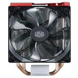 COOLERMASTER HYPER 212X LED TURBO- 2X RED LED FAN- UTRA HIGH PERFORMANCE