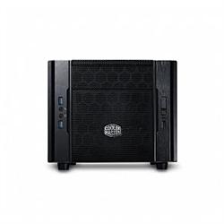COOLERMASTER ELITE 130 MINI ITX CASE- FULL SIZE PSU SUPPORT- USB3.0- CUBE DESIGN- MESH FRO