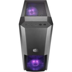 COOLERMASTER MASTERBOX MB500 RGB ATX- TEMPERED GLASS WINDOW- 3X RGB FANS