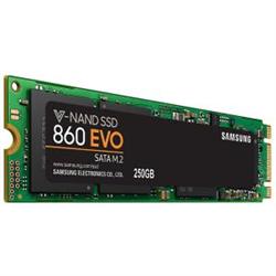 SAMSUNG (860 EVO) 250GB- M.2 INTERNAL SATA SSD- 550R/520W MB/S- 5YR WTY