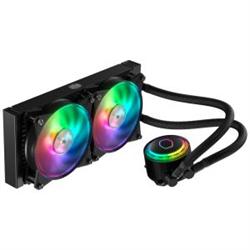 COOLERMASTER MASTERLIQUID ML240R RGB CPU COOLER- RGB WB- 2X120MM RGB FAN 240MM RADIATOR