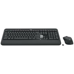 LOGITECH MK540 ADVANCED WIRELESS KEYBOARD AND MOUSE COMBO UNIFYING RECEIVER  - 1YR WTY
