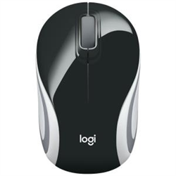 WIRELESS MINI MOUSE M187 - BLACK
