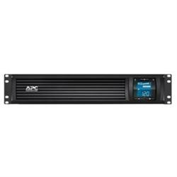 APC SMART UPS (SC)- 1000VA- 230V- LCD- 2U RACK WITH SMART CONNECT - 2YR WTY