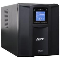 APC SMART UPS (SMC)- 1000VA- IEC(8)- USB- SERIAL- LCD- TOWER- 2YR WTY
